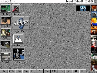 AmigaOS workbench screen shot